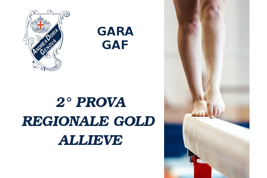 Seconda prova regionale Gold allieve