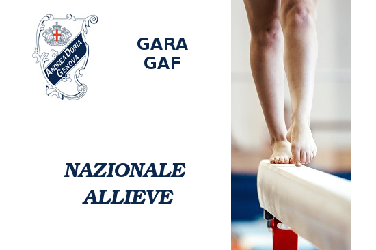 Nazionali allieve Gold