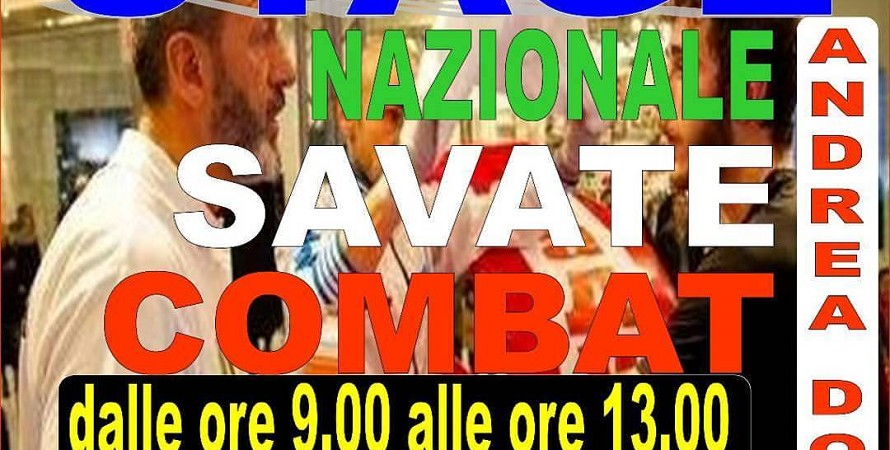 Stage nazionale savate Combat