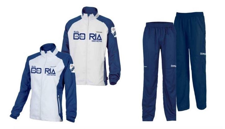 383564267a8f SG Andrea Doria - abbigliamento sportivo head | tuta head Tuta Ufficiale Andrea  Doria